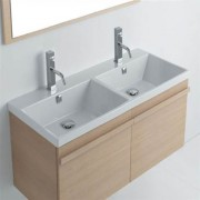 Lavabo Tight 121 doppia vasca