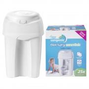 Cos igienic pentru scutece Nursery Essentials Tommee Tippee