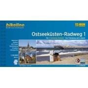 Ostseekusten Radweg: Von Flensburg Nach Lubeck - BIKE.355 v. 1 by Esterbauer Verlag