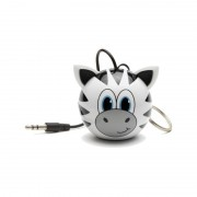 Boxa portabila KitSound Mini Buddy Zebra 2W white