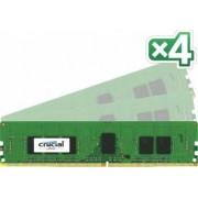 Memorie Crucial FS8213 16GB 4x4GB DDR4 2133MHz CL15