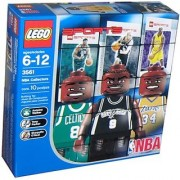 Lego Builders Kit - NBA Player Figures!! Shaq Parker and Walker