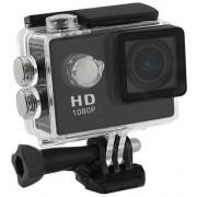 """Camera Video de Actiune Qoltec 50219, Full HD, Ecran LCD 2"""", Waterproof, pentru casca/ bicicleta/ masina"""