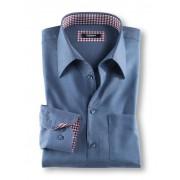 Walbusch Extraglatt-Hemd Amarone Blau 51/52
