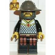 "Lego Knight - 2"" Minifigure from Knights Kingdom I Series"