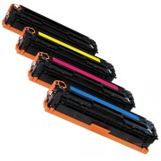 COMPATIBLE HP CF212A/ CAN CRG-731 YELLOW PRINTER TONER CARTRIDGE
