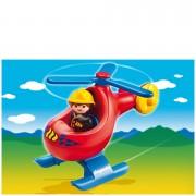 Playmobil 1.2.3 Brandweerhelikopter (6789)