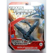 Transformers Prime Soundwave - Robots In Disguise - Deluxe Revealer