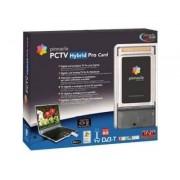 PCTV Hybrid Pro Card 310c - Adaptateur d'entrée vidéo / tuner TV analogique / récepteur DVB-T - CardBus - SECAM, PAL