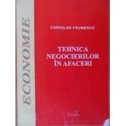 Tehnica Negocierilor In Afaceri - Coriolan Paunescu