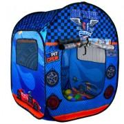 Barraca Infantil Hot Wheels Com 50 Bolinhas - Fun Brinquedos