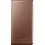 Husa Samsung Flip EF-FG800BFEGWW pentru Galaxy 5 Mini G800 (Auriu)