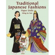 Traditional Japanese Fashions Paper Dolls by Ming-Ju Sun