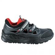 Cofra 55070-000 - Sandalias de seguridad Bakasa Maxi Confort, zapatos de seguridad S1 P Src, tamaño 48, negro