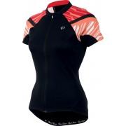 PEARL iZUMi ELITE Jersey Women Black/Living Coral XL Bike Trikots