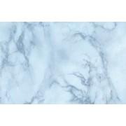 Autocolant marmura bleu intens