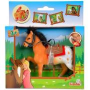 Simba Champion Beauty lovak - 11 cm, világosbarna-fehér