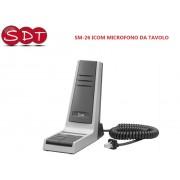 SM-26 ICOM MICROFONO DA TAVOLO