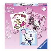 Hello Kitty puzzels 3 stuks