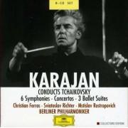 P.I. Tchaikovsky - 6 Symphonies/ Concertos (0028946377420) (8 CD)