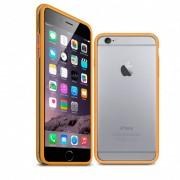 Clubcase Coque Bumper iPhone 6 / 6s HQ Orange / Transparent