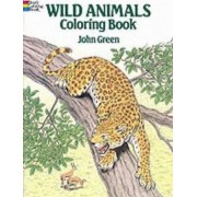 Wild Animals Colouring Book by John Green