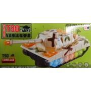 Tank T90 világítós zenélős önműködő tank No.LX.725 - Gyerek játék