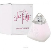 Mauboussin Lovely A La Folie Eau De Parfums Spray for Women 3.3 Ounce