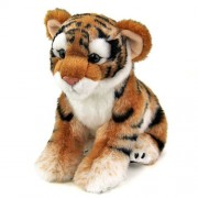 Real stuffed Amur tiger child Real Animal Family Series (japan import)