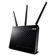 Рутер Asus RT-AC68U, Wireless-AC1900 Dual-Band USB3.0 Gigabit Router, 802.11ac, 1300Mbps (5GHz), 802.11n, 600 Mbps (2.4GHz), 90IG00C0-BM3010
