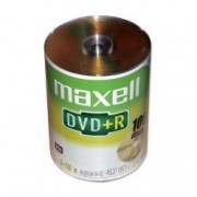 DVD+R Maxell 16X - Pack 100 unidades