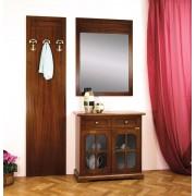 Garderobe-Set:Paneel Anrichte Spiegel
