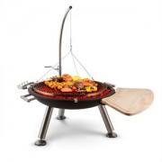 Blum Feldt Turion spânzurătoare-gratar pan vas de foc gratar carbune cablu de oțel inoxidabil (GQ15-Turion)