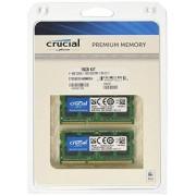 Crucial 16GB Kit (8GBx2) DDR3 1600 MT/s (PC3-12800) SODIMM 204-Pin Mémoire pour Mac - CT2C8G3S160BMCEU