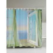 rosegal Bath Decor Balcony Seascape Shower Curtain