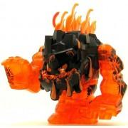 LEGO Power Miner Minifig Rock Monster Large Eruptorr Trans-Orange