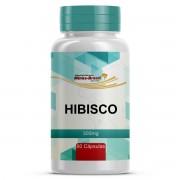 Cápsula de Hibiscus 300mg Com 60 Cápsulas