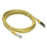 MCL Câble de réseau - RJ-45 (M) - RJ-45 (M) - 5 m - blindé Jaune