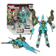 """Hasbro Year 2014 Transformers Generations """"Thrilling 30"""" Series Voyager Class 8 Inch Tall Robot Action Figure Autobot Brainstorm With Twin Blasters And Head That Convert To Pilot (Vehicle Mode: Jet)"""