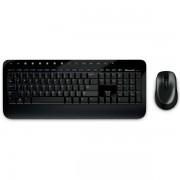 Kit tastatura si mouse fara fir, USB, negru, MICROSOFT DESKTOP 2000 BLUETRACK
