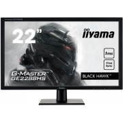 "Monitor Gaming TN LED iiyama G-Master Black Hawk 22"" GE2288HS, Full HD (1920 x 1080), DVI, HDMI, 1 ms, Boxe, FreeSync (Negru)"