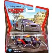 Disney/Pixar Cars 2, Movie Die-Cast Vehicle, Max Schnell #21, 1:55 Scale by Mattel