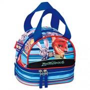 Disney Pixar zootropolis Badge école sac à déjeuner (Bleu)