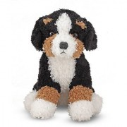 Melissa & Doug Barkley Bernese Mountain Dog Stuffed Animal
