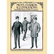 Men's Fashion Illustrations from the Turn of the Century by Jno. J. Mitchell Co