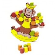 Blue Orange Games Keekee The Rocking Monkey Award Winning Wooden Skill Building Balancing Game for Kids