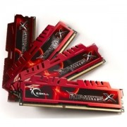 Memorie G.Skill RipJawsX 16GB (4x4GB) DDR3 PC3-14900 CL9 1.5V 1866MHz Intel Z97 Ready Dual/Quad Channel Kit, F3-14900CL9Q-16GBXL