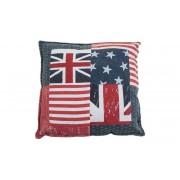 SoffaDirekt VICTORIA Union Jack 50X50 Röd
