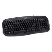 GENIUS KB-M200 PS/2 YU crna tastatura TAS00366