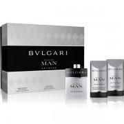 Bvlgari Man Extreme Комплект (EDT 60ml + AS Balm 75ml + SG 75ml) за Мъже